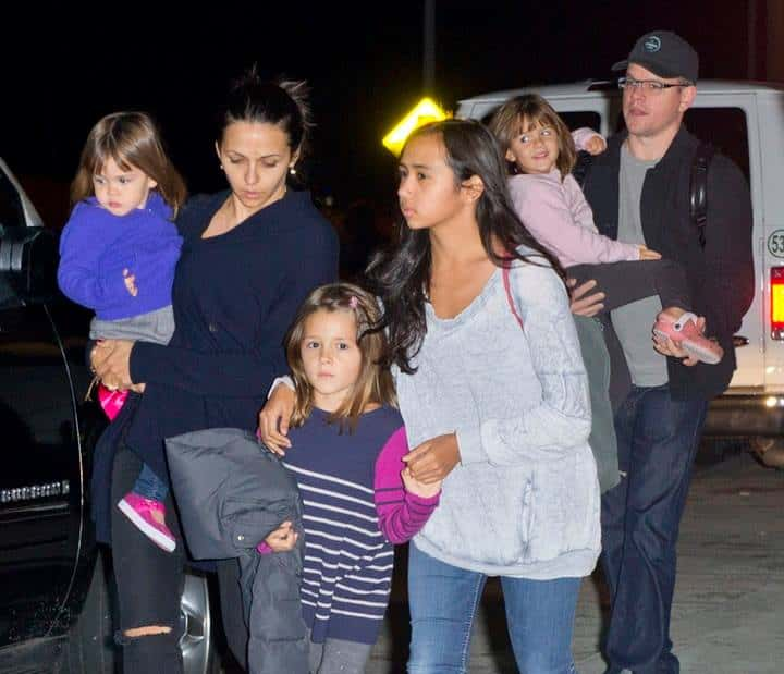 Matt Damon Says Being a Father to His Four Daughters Makes His ...
